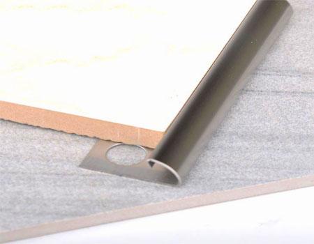 NẸP INOX ỐP GÓC GẠCH BO TRÒN – Vật liệu trang trí nội thất