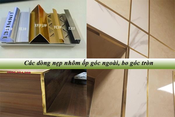 Ứng dụng nẹp nhôm trong thiết kế nội thất gia đình