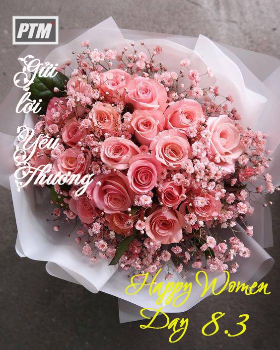 Chúc mừng ngày Quốc tế Phụ nữ 8.3