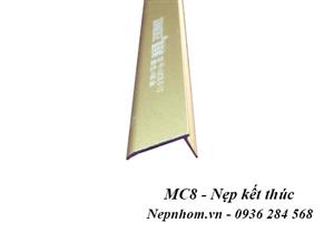 Nẹp nhôm chặn thảm MC8.0