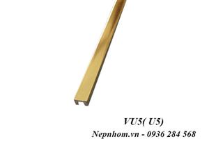 Nẹp nhôm trang trí VU5