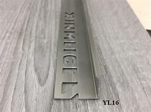 Nẹp nhôm bo vuông YL16