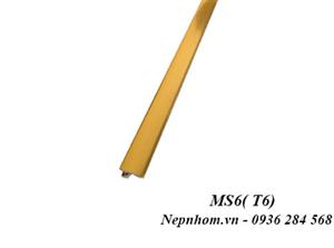 Nẹp nhôm trang trí MS6