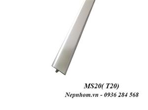 Nẹp nhôm trang trí MS20